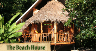 Costa Rica Tree House Lodge: Beach House