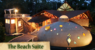 Costa Rica Tree House Lodge: Beach Suite